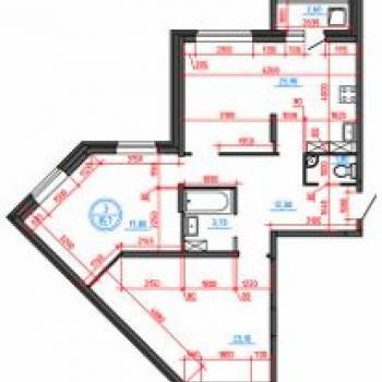 ЖК Иллидиум 2 (Тверь) – планировка №2