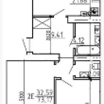Жилой дом на Кольцевой (Тверь) – планировка №2