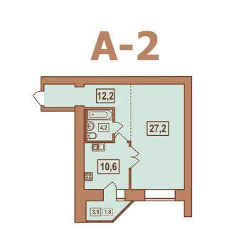 ЖК Европейский (Тверь) – планировка №8