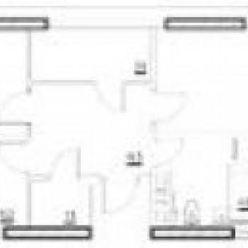 ЖК Белая река (Уфа) – планировка №3