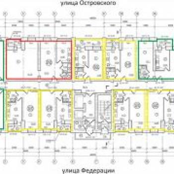 ЖК Полет (Ульяновск) – планировка №1