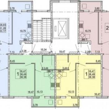 Микрорайон Центральный (Ульяновск) – планировка №3