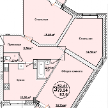 ЖК Квартал Сити (Ульяновск) – планировка №2