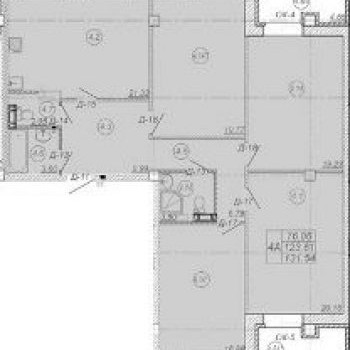 ЖК 7 квартал (Владимир) – планировка №2