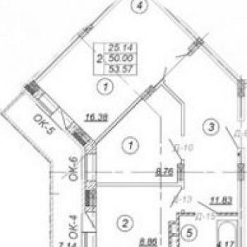 ЖК 7 квартал (Владимир) – планировка №4