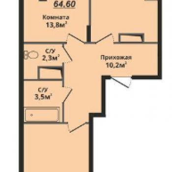 ЖК Факел (Владимир) – планировка №1