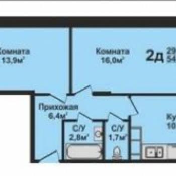 ЖК Эталон (Владимир) – планировка №2