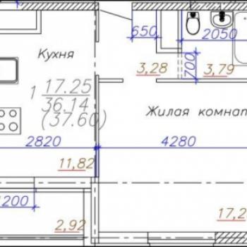ЖК Московский (Владимир) – планировка №4