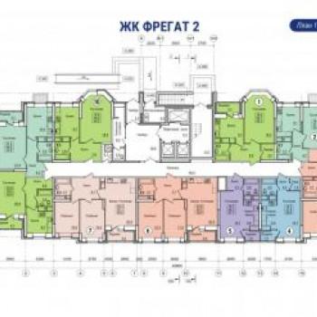 ЖК Фрегат 2 (Владивосток) – планировка №5