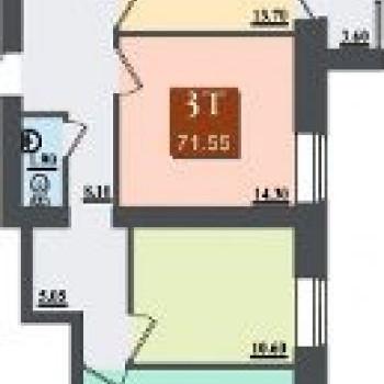 ЖК Бейкер cтрит (Волгоград) – планировка №2