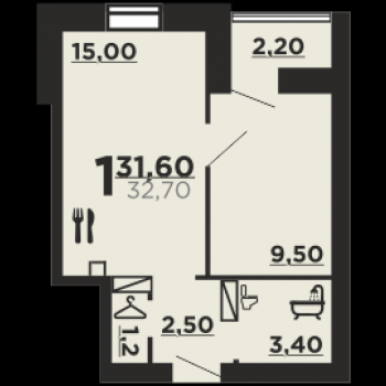 Дом на ул. Профсоюзная (Волгоград) – планировка №5