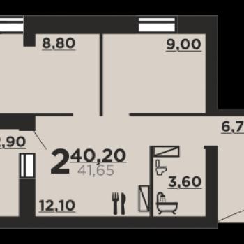 Дом на ул. Профсоюзная (Волгоград) – планировка №3