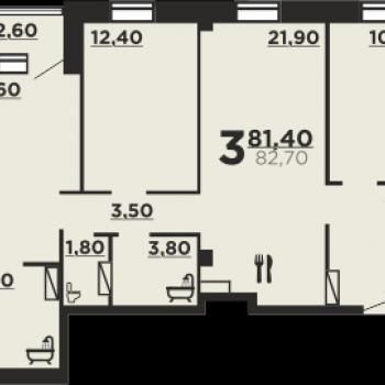 Дом на ул. Профсоюзная (Волгоград) – планировка №1