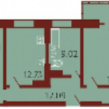 ЖК Георгиевский (Волгоград) – планировка №2