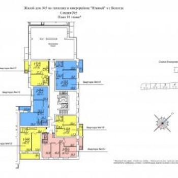 ЖК Южная крепость (Вологда) – планировка №4
