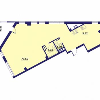 Клубный дом Гран-При (Воронеж) – планировка №11