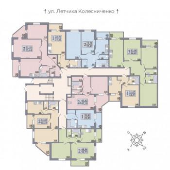 ЖК Розмарин (Воронеж) – планировка №10