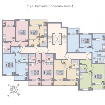 ЖК Розмарин (Воронеж) – планировка №7
