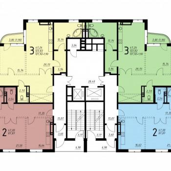 Дом на ул. Платонова (Воронеж) – планировка №8
