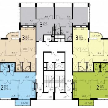 Дом на ул. Платонова (Воронеж) – планировка №6