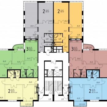 Дом на ул. Платонова (Воронеж) – планировка №5