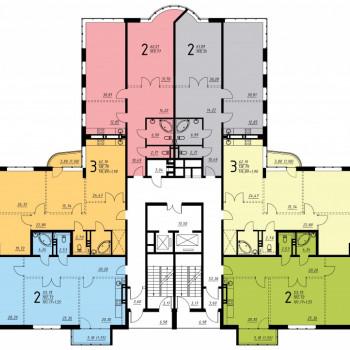 Дом на ул. Платонова (Воронеж) – планировка №3
