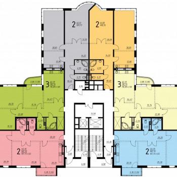Дом на ул. Платонова (Воронеж) – планировка №2