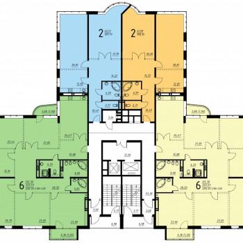 Дом на ул. Платонова (Воронеж) – планировка №1