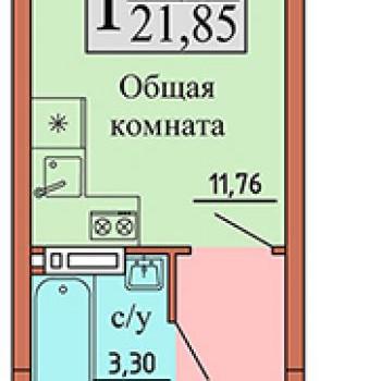 ЖК Чайка (Воронеж) – планировка №9