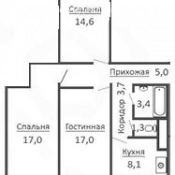ЖК Виадук (Воронеж) – планировка №1