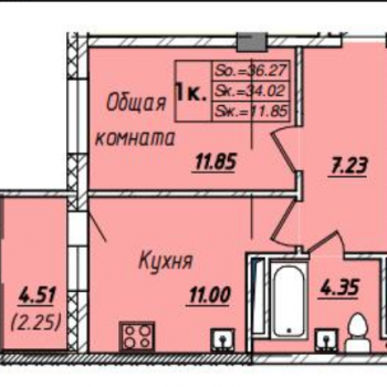 Микрорайон Аврора (Якутск) – планировка №3