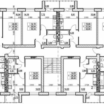 ЖК Квартал-18 (Ярославль) – планировка №1