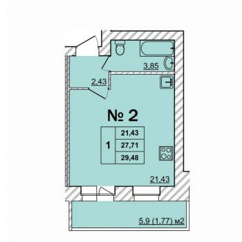 Дом Батова (Ярославль) – планировка №3