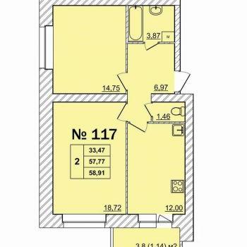 Дом Батова (Ярославль) – планировка №2