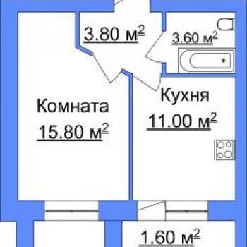 ЖК Лесная сказка (Ярославль) – планировка №2