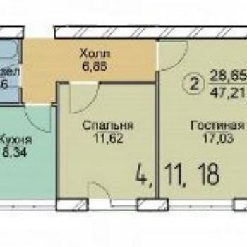 Микрорайон Новый Ярославль (Ярославль) – планировка №3