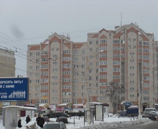 Кострома — 3-комн. квартира, 76 м² – Магистральная, 37 (76 м²) — Фото 1