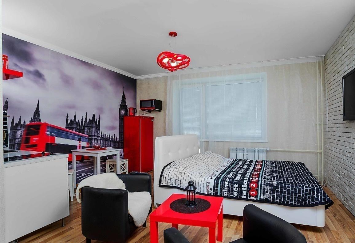 Челябинск — 1-комн. квартира, 28 м² – 40 лет победы   44  джакузи (28 м²) — Фото 1