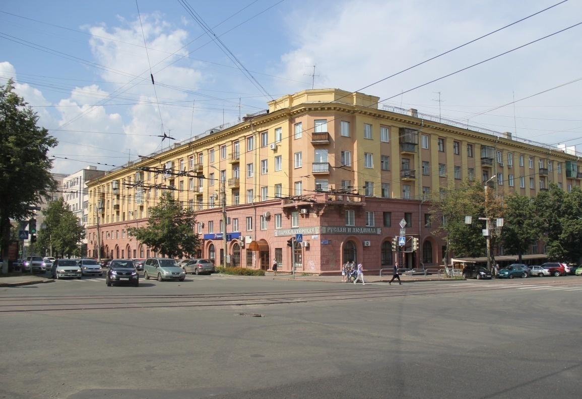 Челябинск — 2-комн. квартира, 65 м² – Местоположение объекта указано на карте (65 м²) — Фото 1