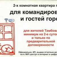 Тамбов — 2-комн. квартира, 54 м² – Набережная, 28/2 (54 м²) — Фото 2