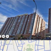 1-комнатная квартира, этаж 7/18, 40 м²