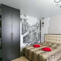 1-комнатная квартира, этаж 9/17, 45 м²