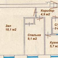Петрозаводск — 2-комн. квартира, 45 м² – Максима Горького, 18 (45 м²) — Фото 2